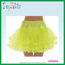 Hot Sale Long Waist And Peplum Lady Party TuTu Dress