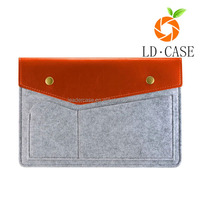 factory cheap price wool felt sleeve tablet case for Ipad Air 2