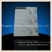 Plastic courier mailing packaging bag for clothes / poly mailing bags