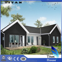 American Style Small Villa Architectural Design and Drawing