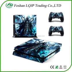 new design hot sell for ps4 console controller vinyl skin sticker for ps4 wholesale