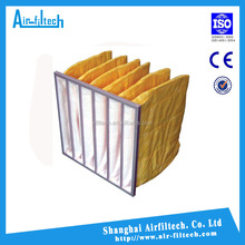 whosales industrial bag housing air filter F5, F6, F7 F8, F9 China bag filter cost