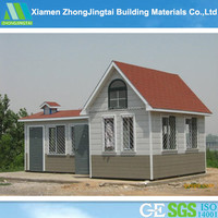 ZJT Small single wooden house log house for sale