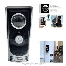 WiFi Smart Video Doorphone IP Camera Wireless Video Intercom System Waterproof Android APP Mobile Doorbell