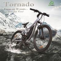 Tornado,NEW ARRIVAL!full suspension electric mountain bike