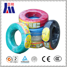 1.5mm 2.5mm 4mm 6mm 10mm house wiring copper insulated electrical cable