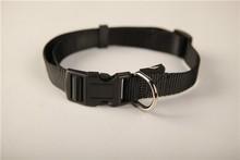 Cool Black Series Pure Color Nylon Dog Collar
