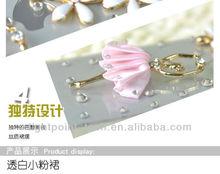 Luxury Case Ballet Girl bling cell phone case For iphone5