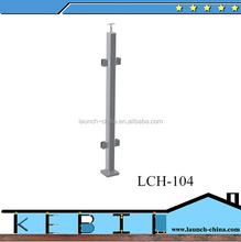Sans cadre main courante balustrade en verre trempé balustrade / balustrade post