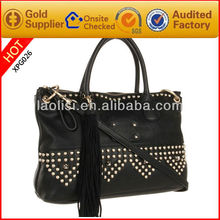 Guangzhou wholesale leather handbag stud for hand bag for women