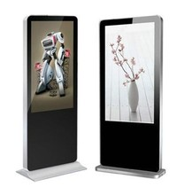 46 '' floor stand lcd touch screen advertising display,flexible touch screen display, stand alone advertising display