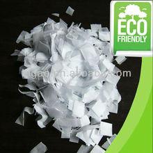 Excellent white paper confetti
