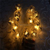 Best quality Plastic ball light string and decorative light for christmas tree