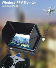 C486 New generation RC hobby FPV Monitor 5inch LCD screen li-battery powered auto scan& lock channels
