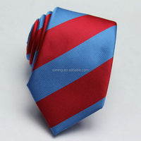 Customized discount black suit red silk tie