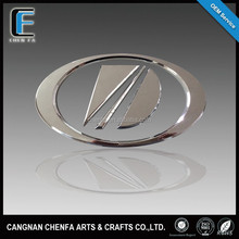 Factory price 3D outdoors ABS chrome logo car emblem badges