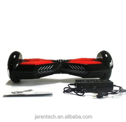 Black color aluminium tire 6.5 inc hover board 2 wheels with remote from Guangdong