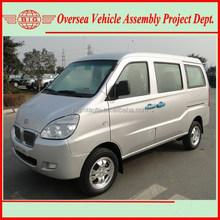 Euro IV Standard 8 Seats Gasoline Engine A/C delivery Van
