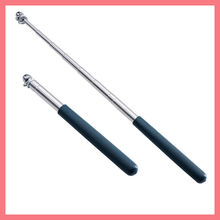 telescopic stainless steel hand held flag pole tour guide flagstaff expendable hand hold flagpole