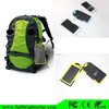 Solar power universal mobile phone charger dual port usb solar wall charger 5000mAh