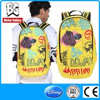 BBP403 Outside the school backpack 2015 European wind women leisure canvas backpack bag