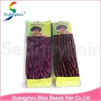 Alibaba China Suppliers ebony synthetic hair