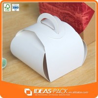 paper cupcake box with handle