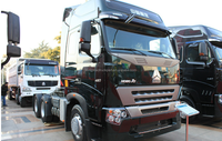 SINOTRUCK 6X4 420HP howo a7 semi-trailer towing truck