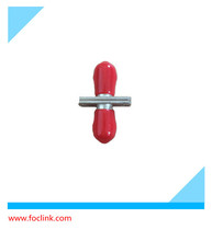 Single mode red color Fiber Optic ST coupler/Adapters