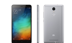 """new model 5.5"""" Xiaomi redmi note3 2gb ram +16gb rom dual sim card 5+13mp camera support 4G lte android phone"""
