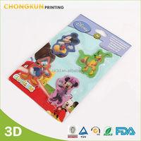 Modern Type Hot Sale Lovely Cartoon 3D Soft Pvc Fridge Magnet