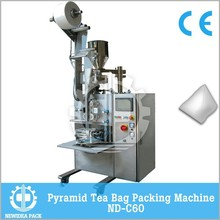 ND-C60 Non-woven High Quality Tea/Coffee Automatic PET PLA Mesh Bag Packing Machine