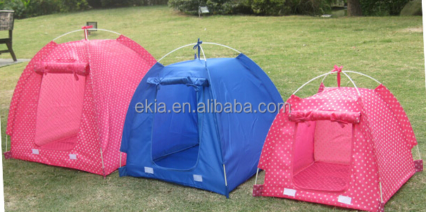 Hot in america wave point tent 3 sizes folding portable pet dot cat tent bed beds house kennel - Ekia furniture ...