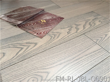 white ash engineered wooden flooring