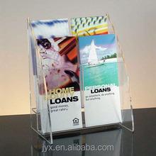 customized acrylic display/acrylic single book display stand