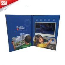 """SSA promotion LCD TFT screen video brochure for Christmas,Halloween and Valentine""""s Day"""