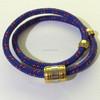 stainless steel bracelet wrapped bracelet not fade couple of men and women hand rope bracelet gift