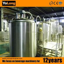 ODM OEM 100l beer making plant, beer brew equipment with steam jacket