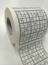 Sudoku Custom Toilet Tissue Paper