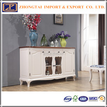 white color Wooden Dining Cupboard For Wholesaler