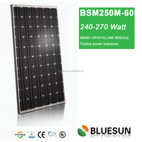 Bluesun good price per watt mono solar pv module 250w for sale