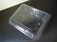 PET clear Plastic meat packaging frozen meat packing box