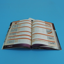 High Quality digital printed glossy paper book printing service