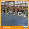 Nivel vibratorio usado para construcción de carreteras de concreto
