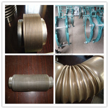 Flanged stainless steel expanson joints