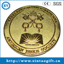 Promotion new design collectible gold metal coin