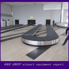 arrival and departure airport luggage handling system turntable