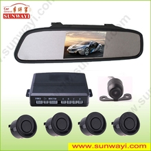 Alibaba china 4.3inch LED display rear view camera car parking sensor system for honda