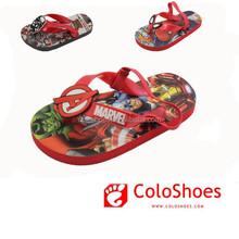 Kids back strap slipper sandals flip flops sublimation