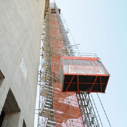 Construction Hoist with CE Approval for chimney use